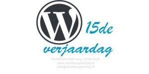 WordPress is 15 jaar!