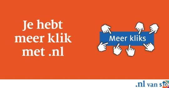 SIDN: ¨Je hebt meer klik met .nl!¨ (campagne)