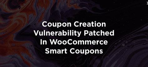 WooCommerce Smart Coupons-plugin gepatcht na beveiligingslek