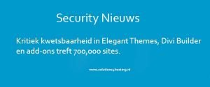 Nieuws Security / Solutions4Hosting