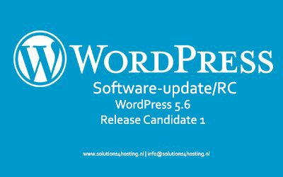 Software-update/RC: WordPress 5.6 Release Candidate