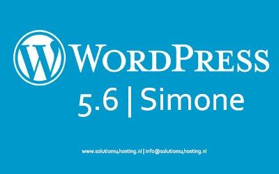 Software-update: WordPress 5.6 – Simone