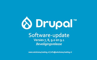 Software-update: Drupal 7.78 / 8.9.13 / 9.0.11 / 9.1.3