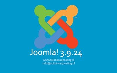 Software-update: Joomla! 3.9.24