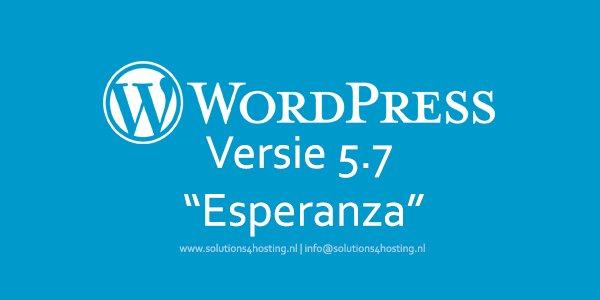 Software-update: WordPress 5.7 – Major Release