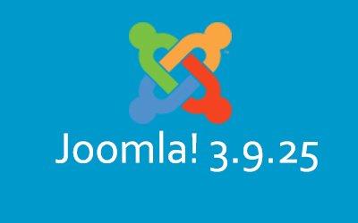 Software-update: Joomla! 3.9.25 – Beveiligings- en onderhoudsrelease