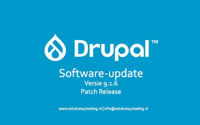 Software-update: Drupal 9.1.6 – Patch Release