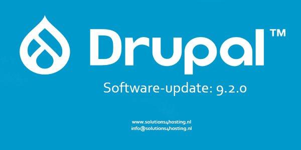 Software-update: Drupal 9.2.0