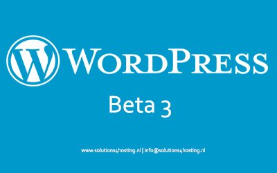 Dev: WordPress 5.8 Beta 3