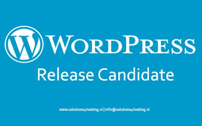 WordPress 5.8 – Release Candidate
