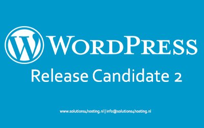 WordPress 5.8 – Release Candidate 2